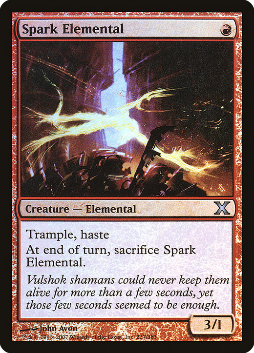 Spark Elemental image