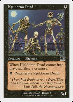Kjeldoran Dead image