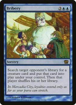 Bribery image
