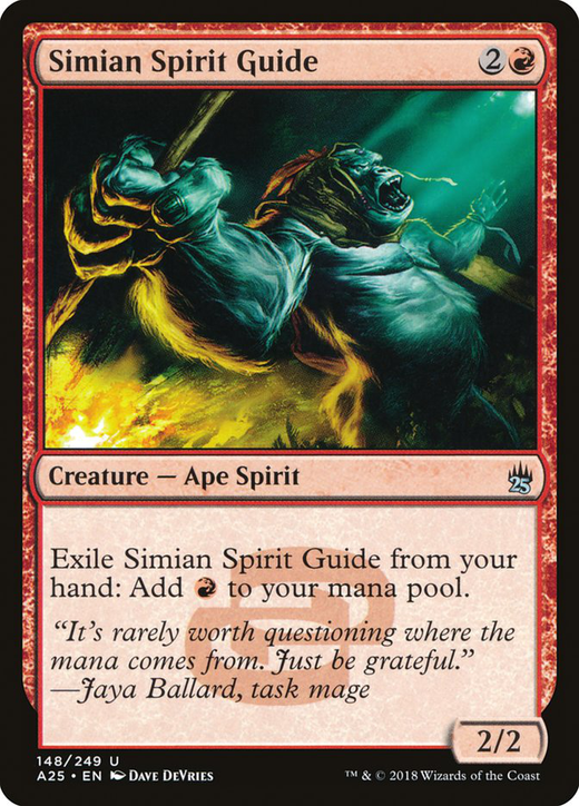 Simian Spirit Guide image