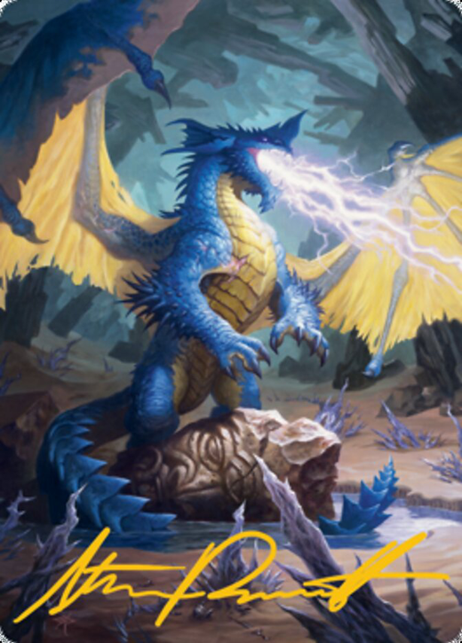 Blue Dragon Card // Blue Dragon Card image