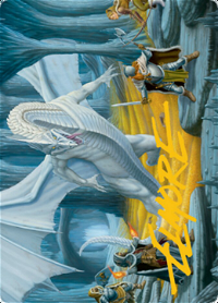 Cave of the Frost Dragon Card // Cave of the Frost Dragon Card image