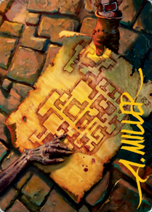 Dungeon Map Card // Dungeon Map Card image