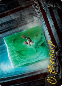 Gelatinous Cube Card // Gelatinous Cube Card image