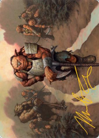 Hobgoblin Bandit Lord Card // Hobgoblin Bandit Lord Card image