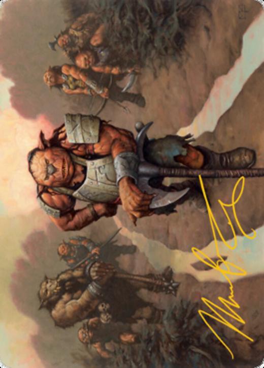 Hobgoblin Bandit Lord Card // Hobgoblin Card image
