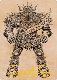 Iron Golem Card // Iron Golem Card image