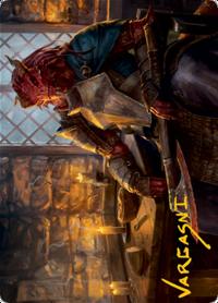 Jaded Sell-Sword Card // Jaded Sell-Sword Card image
