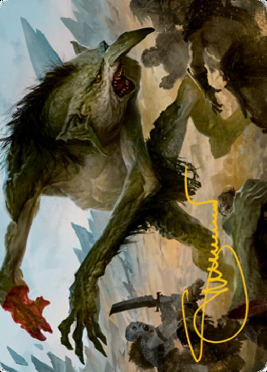 Loathsome Troll Card // Troll Card image