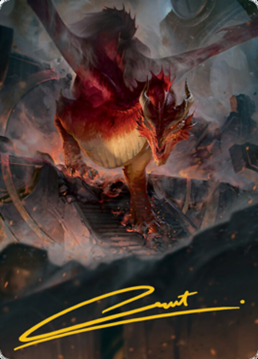 Red Dragon Card // Red Dragon Card image