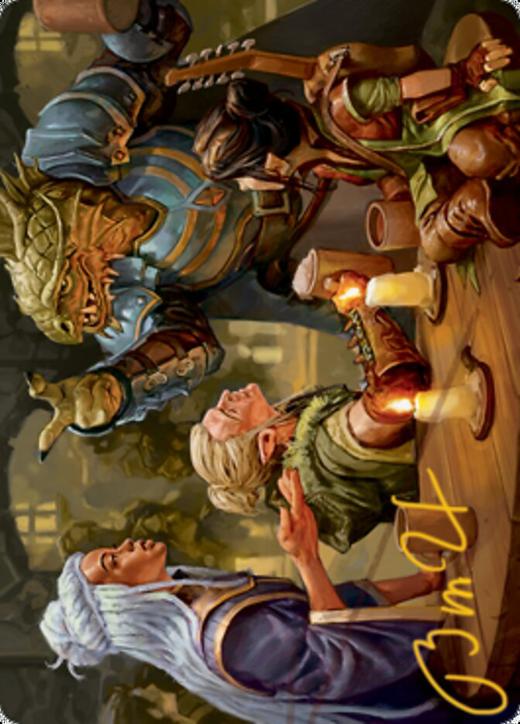 You Meet in a Tavern Card // You Meet in a Tavern Card image