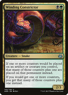 Winding Constrictor image