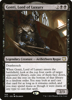 Gonti, Lord of Luxury image