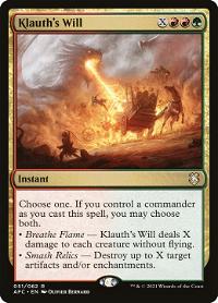 Klauth's Will image