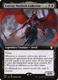 Lorcan, Warlock Collector image