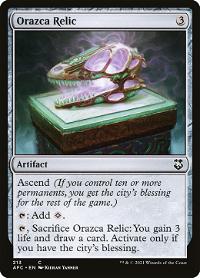 Orazca Relic image