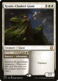 Realm-Cloaked Giant // Cast Off image