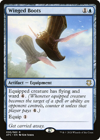Winged Boots image