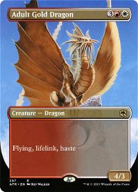 Adult Gold Dragon image