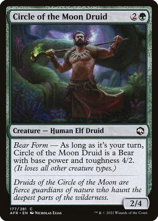 Circle of the Moon Druid image