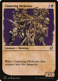 Clattering Skeletons image