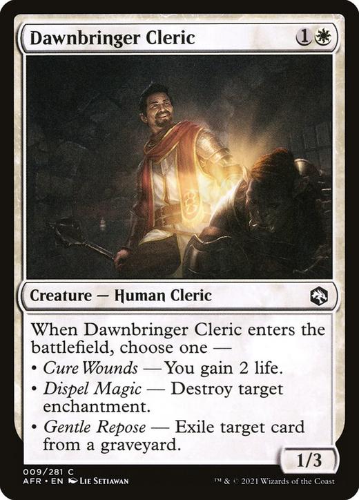 Dawnbringer Cleric image