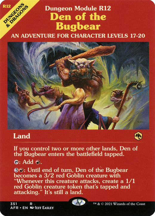 Den of the Bugbear image