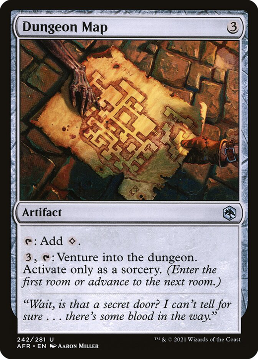 Dungeon Map image