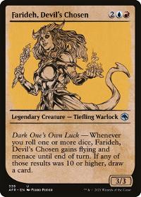 Farideh, Devil's Chosen image