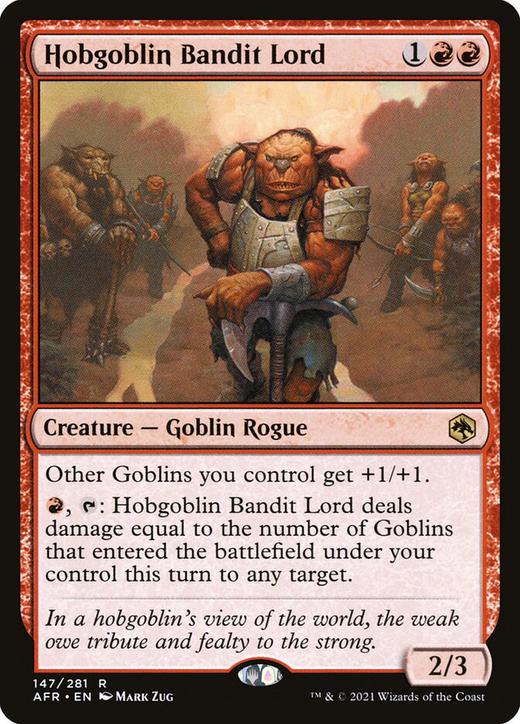 Hobgoblin Bandit Lord