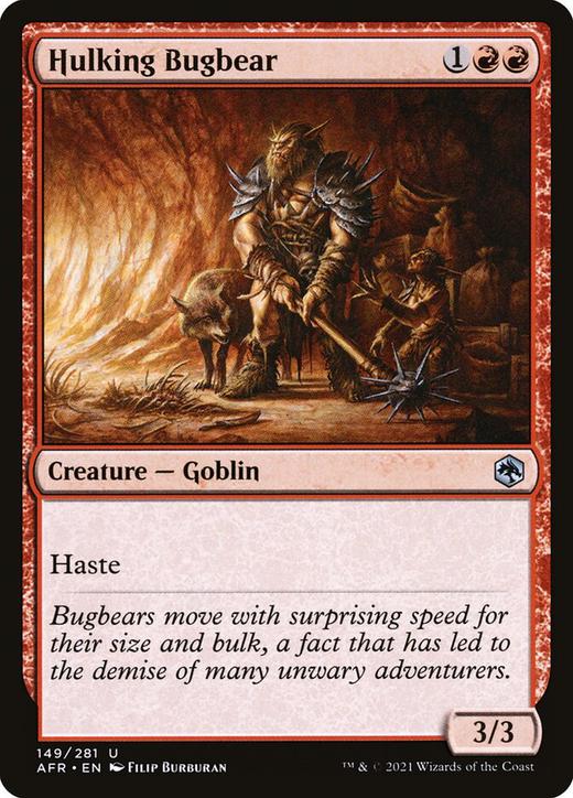 Hulking Bugbear image
