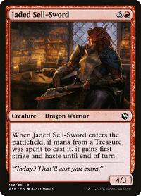 Jaded Sell-Sword image