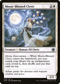 Moon-Blessed Cleric image