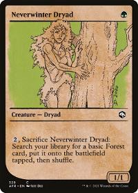 Neverwinter Dryad image