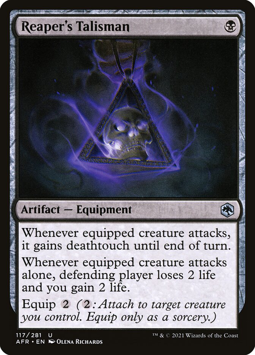 Reaper's Talisman image