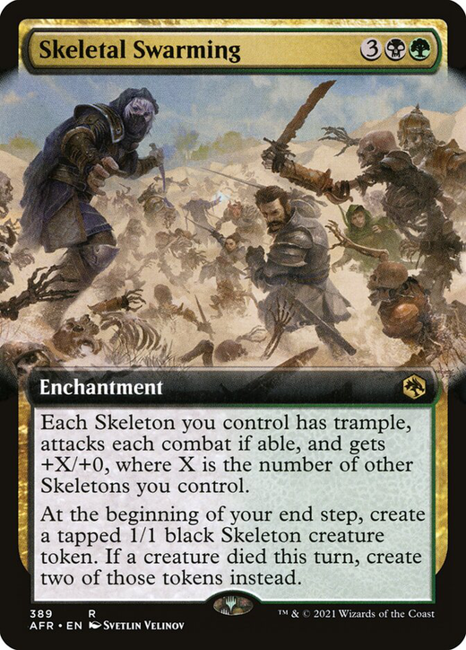 Skeletal Swarming image