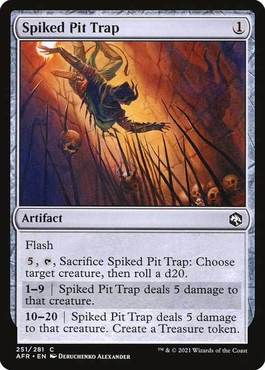 Spiked Pit Trap image