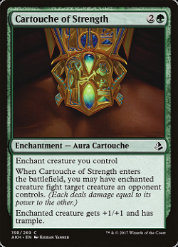 Cartouche of Strength image