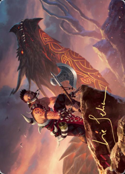Dragonkin Berserker Card // Dragonkin Berserker Card image