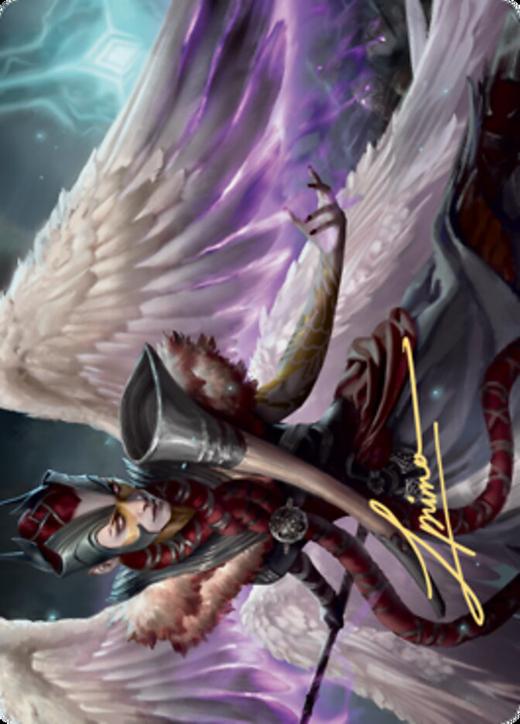 Firja, Judge of Valor Card // Firja, Judge of Valor Card image
