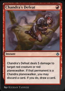 Chandra's Defeat image