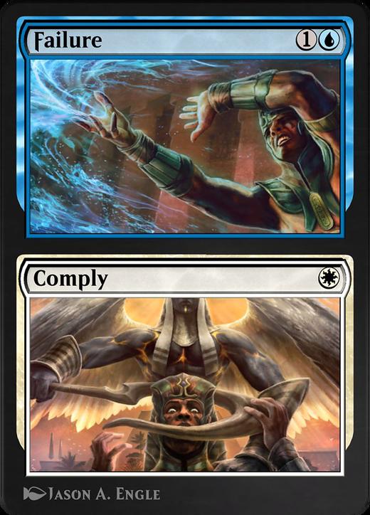 Failure // Comply image