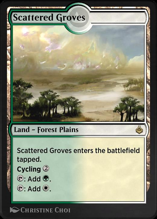 Scattered Groves image