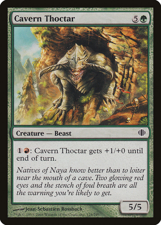 Cavern Thoctar image