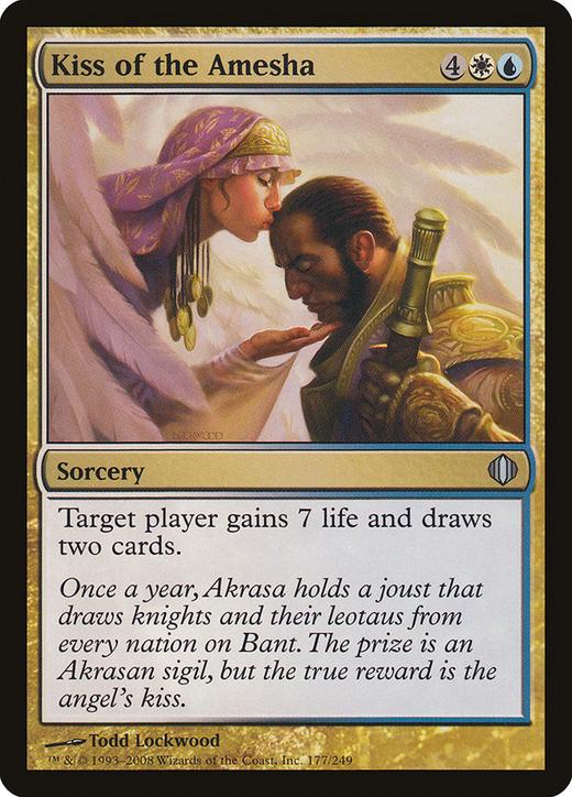 Kiss of the Amesha image