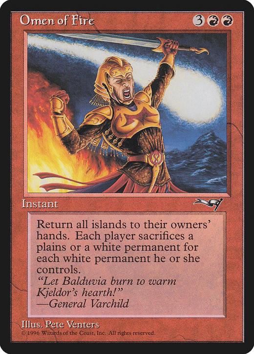 Omen of Fire image