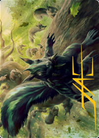 Chatterfang, Squirrel General Card // Chatterfang, Squirrel General Card image