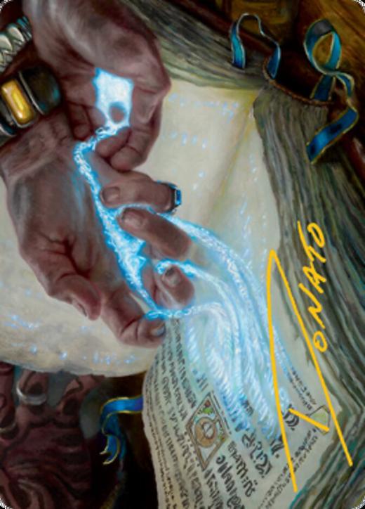 Mystic Redaction Card // Mystic Redaction Card image
