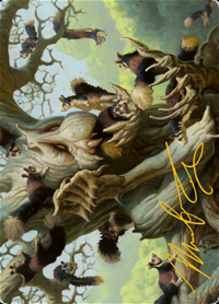 Scurry Oak Card // Scurry Oak Card image