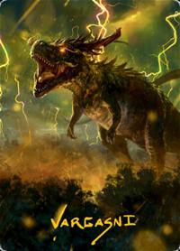 Thrasta, Tempest's Roar Card // Thrasta, Tempest's Roar Card image